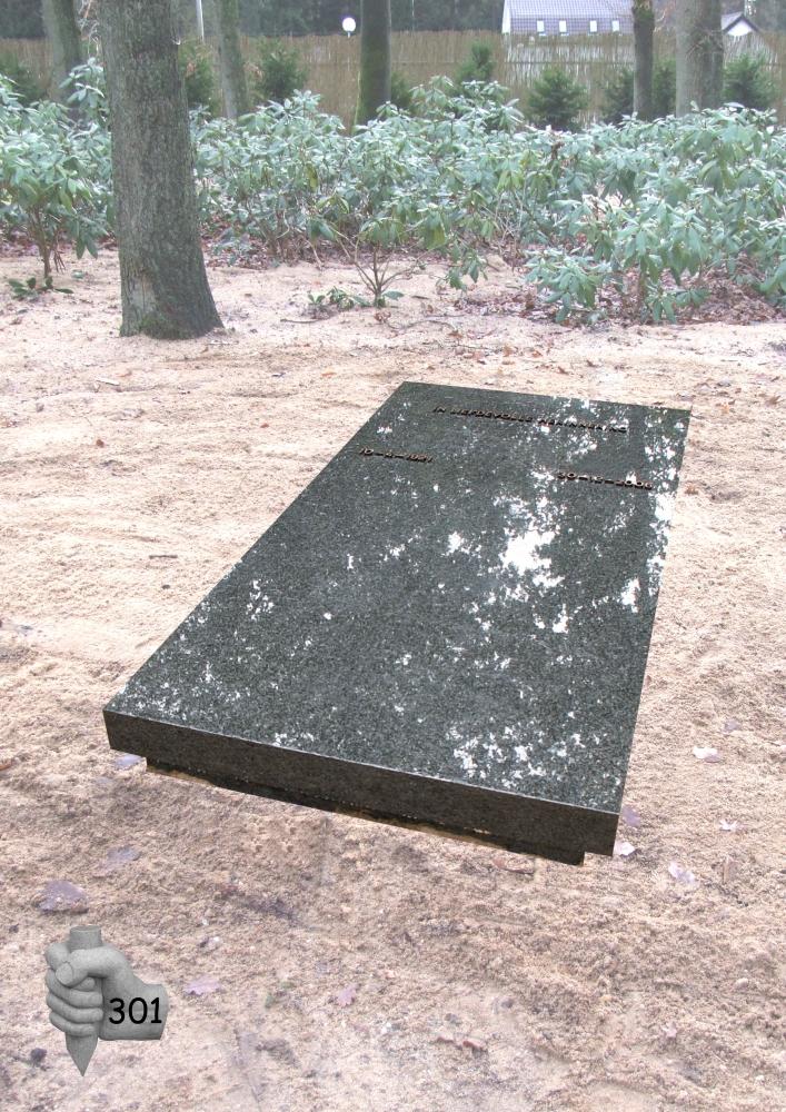 Grafmonument van der Velde Natuursteen -model 301