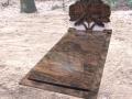 Grafmonument van der Velde Natuursteen -model 116