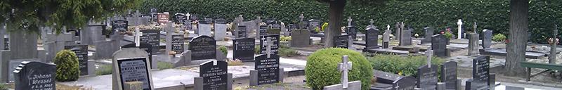 Begraafplaatsen informatie Van der Velde Natuursteen