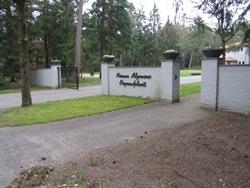 Van der Velde natuursteen Nieuwe Begraafplaats Doorn
